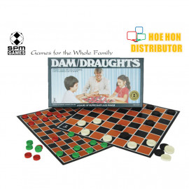 image of Dam / Draughts Standard Board Game SPM 51