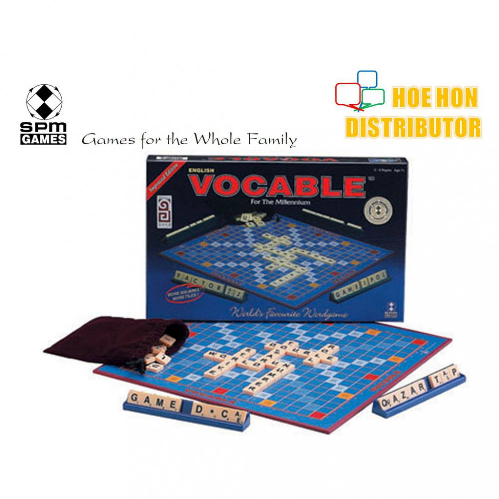 Vocable (Scrabble) Improved Edition English SPM 166