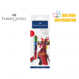 image of Faber - Castell Acrylic 12 Colours Set