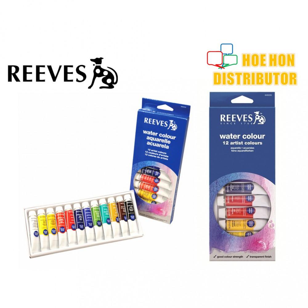 Reeves Water Colour 12 Artist Colours / Color Set