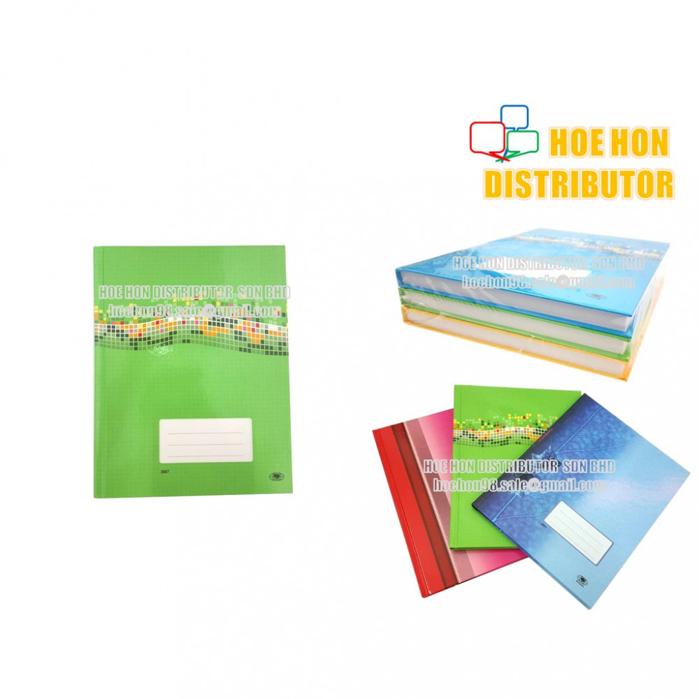 Hard Cover Square Note Book F5 210 Pages (200 Pages / 250 Pages)