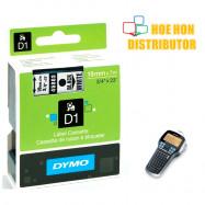 image of Dymo Labelmanager D1 Cassette / Cartridge Refill 19mm x 7m 420P