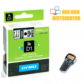 image of Dymo Labelmanager D1 Cassette / Cartridge Refill 19mm x 7m 420P