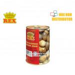 Rex Straw mushroom Canned Food / Tin Cendawan Jerami 425g
