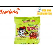 image of Samyang Jjajang Hot Chicken Flavor Ramen / Korean Black Bean Sauce 140g (HALAL)