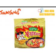 image of Samyang Curry Hot Chicken Flavor Ramen 140g / 700g HALAL