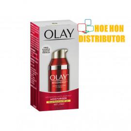 image of Olay Regenerist Micro Scrulpting UV Cream Moisturiser Anti-Ageing SPF 30 50ml