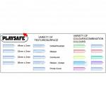 Playsafe Studded Condom 12 (Durex Condom Alternative)