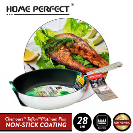 image of Elianware x HomePerfect Non Stick Pan (28cm) Virgo Leaf