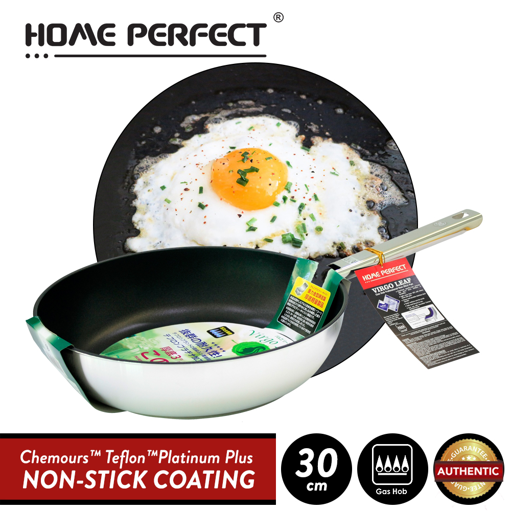 Elianware x HomePerfect Non Stick Pan (30cm) Virgo Leaf