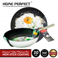 image of Elianware x HomePerfect Non Stick Pan (30cm) Virgo Leaf