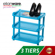 image of Elianware 3 Layer Durable Shoe Rack