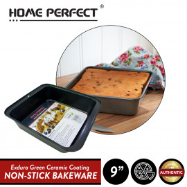"image of Elianware x HomePerfect Non Stick Pan (9"") Deep Square Cake Pan"
