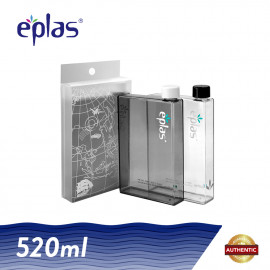image of Eplas 2 x 520ml BPA Free Creative A5 Size Paper Water Bottle