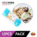 Elianware 12 Pcs Pack BPA Free Ice Beverage Spoon