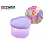 Elianware Heart Shape Multipurpose Container Multicolor BPA FREE