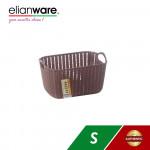 Elianware Modern Rectangular Basket with Handle