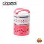 Elianware 1300ml BPA FREE Large Dual Layer Food Container Thermal Lunch Box