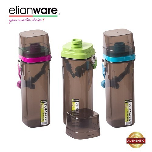 Elianware BPA Free 750ml Water Tumbler with Strip