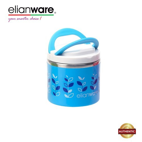 image of Elianware 600ml BPA Free One Layer Food Keeper Food Container Thermal Lunch Box