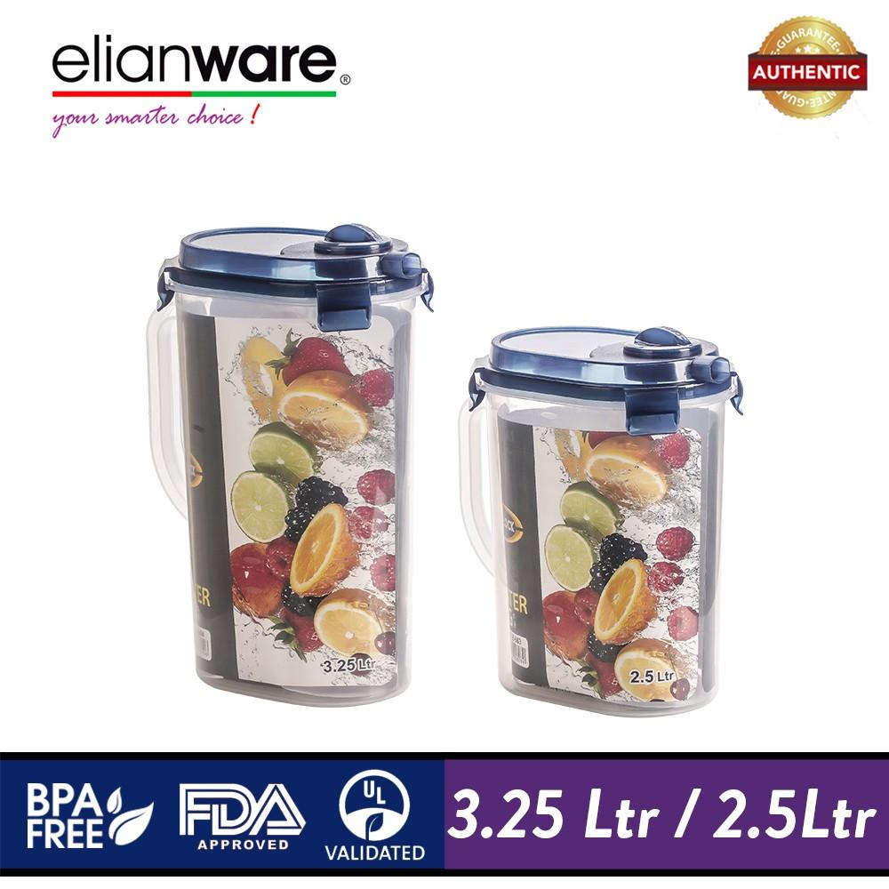 image of Elianware Ezy-Lock Water Jug [BPA Free] Cereal Rice Dispenser