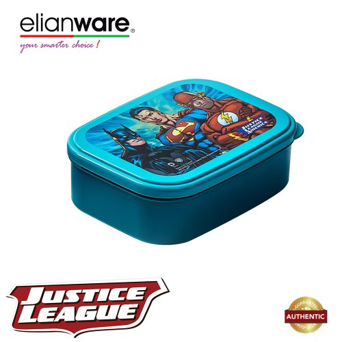 image of Elianware DC Justice League 2 Compartments BPA Free Food Container