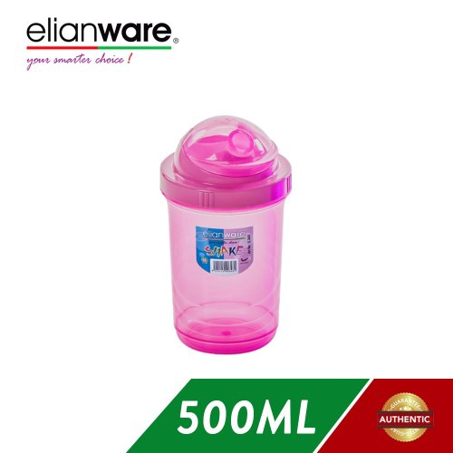 image of Elianware 500ml Shaker Blender Container with Cap (BPA Free)