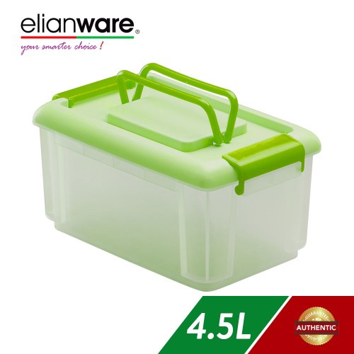 image of Elianware 4.5L Multipurpose Storage Container with Handle
