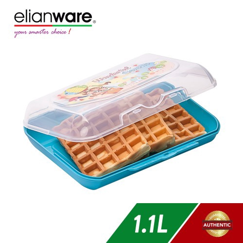 image of Elianware 1100ml Microwavable Kid Lunch Box