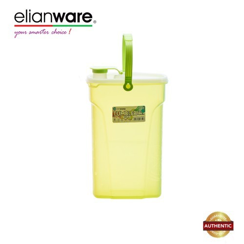 Elianware 3Ltr BPA Free Easy Carry Everyday Need Water Tumbler with handle