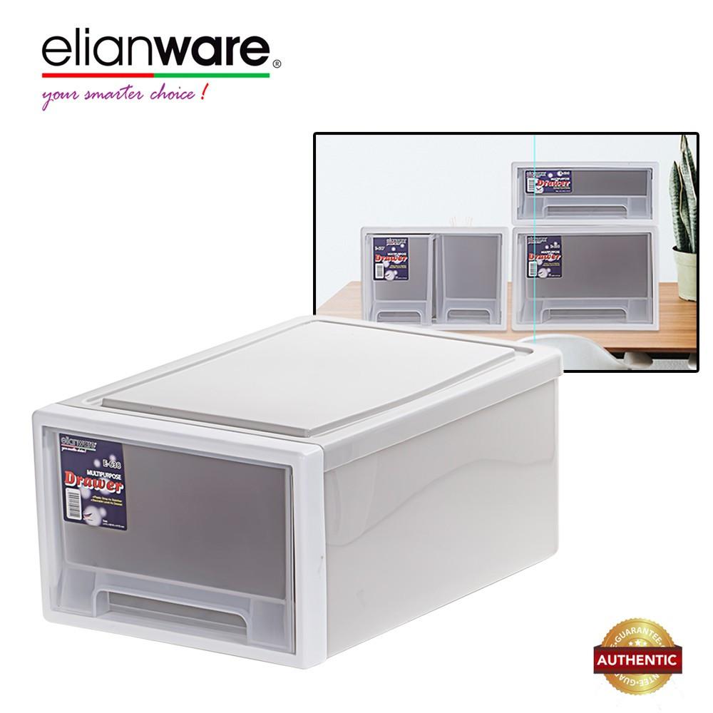 Elianware H172mm Elegant Modern Office Drawer Storage Box (638)