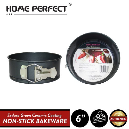 "image of Elianware x HomePerfect Non Stick Pan (6"") Springform Round Cake Pan"