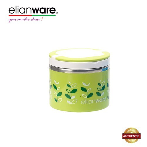 Elianware 900ml BPA Free One Layer Food Keeper Food Container Thermal Lunch Box