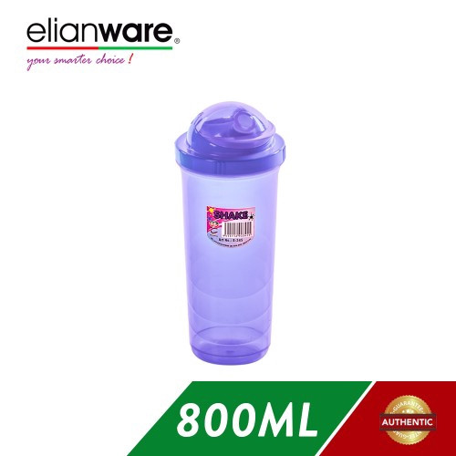 image of Elianware 800ml Shaker Blender Container with Cap (BPA Free)