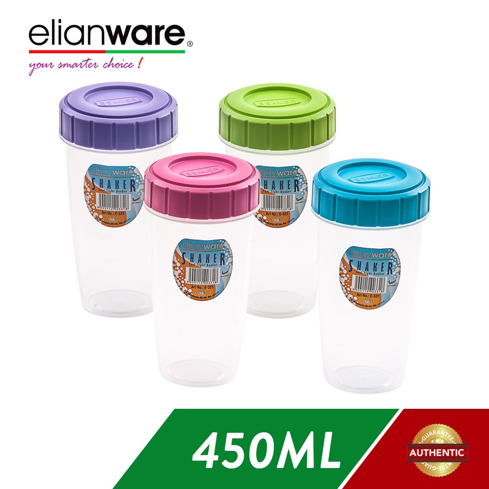 image of Elianware BPA Free 450ml Shaker Blender Container