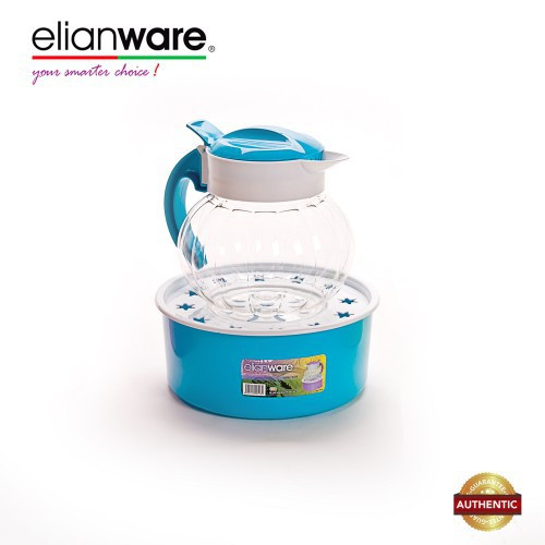 Elianware 1.6 Ltr BPA Free Hand Washing Pot with Tray