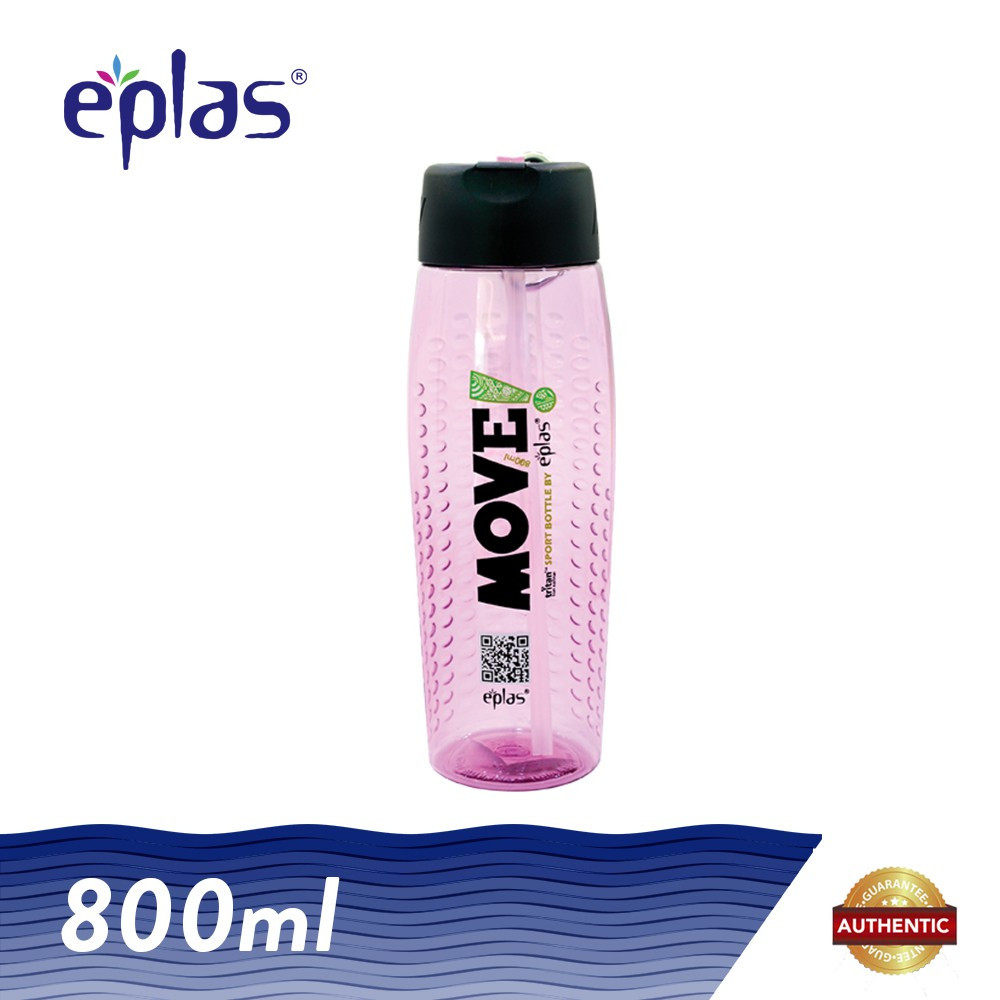 image of eplas 800ml BPA Free MOVE Sporty Water Bottle Tumbler