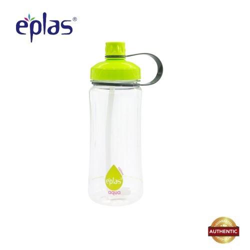 eplas 1500ml BPA Free Bottle With Straw & Strip