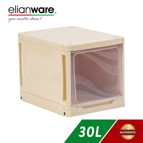 image of Elianware Square DIY Storage Drawer Cloth Cabinet