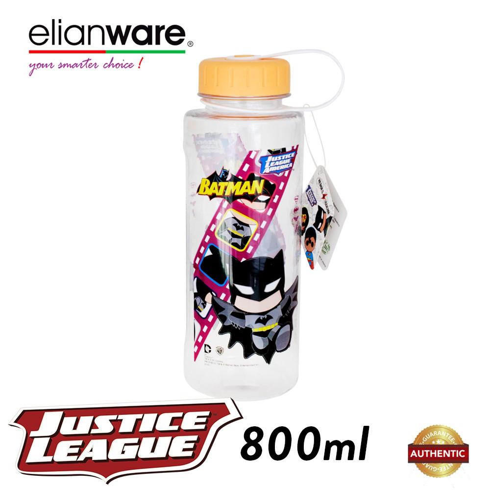 image of Elianware DC Justice League 800ml BPA Free Hero Film Water Tumbler