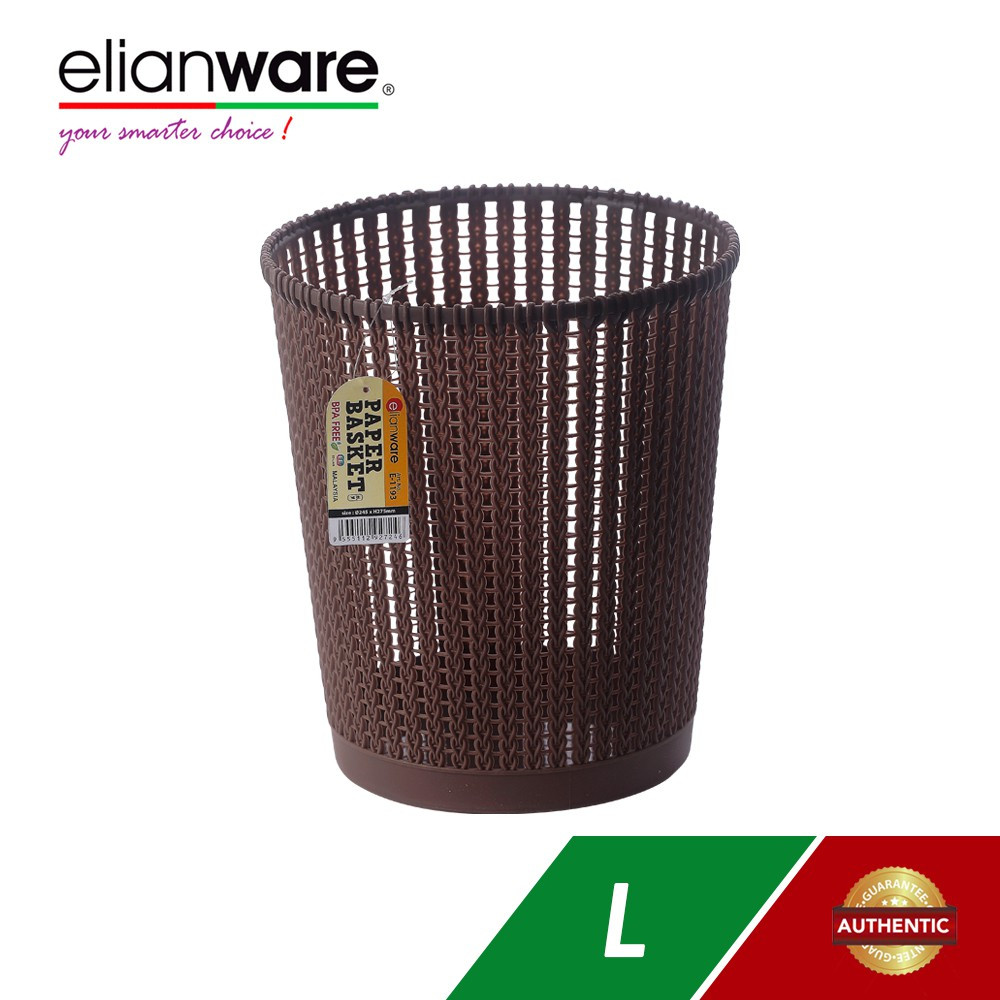 image of Elianware Quality Guaranteed Modern Large Size Office Paper Basket