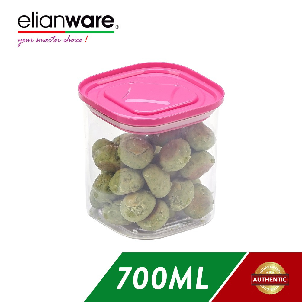 image of Elianware 700ml Transparent Airtight Canister
