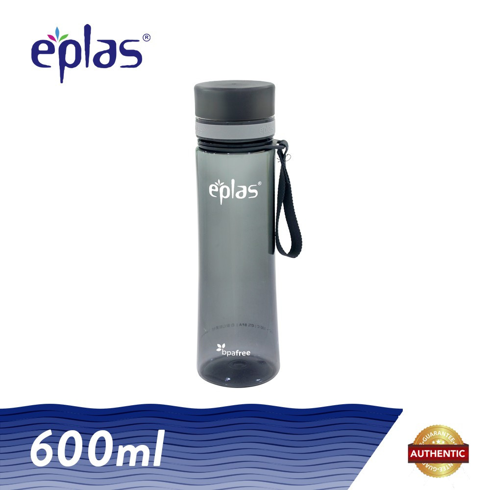 image of Eplas 600ml BPA Free Clear Transparent Water Tumbler