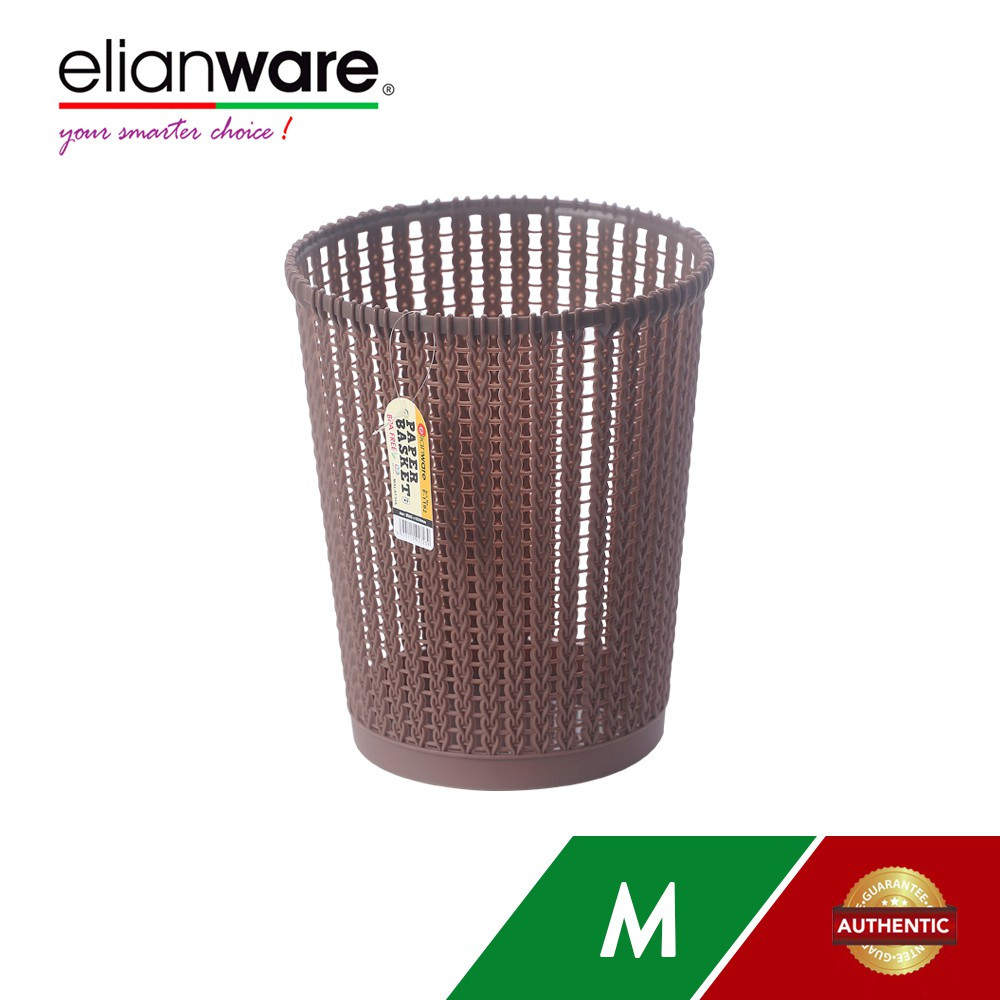 image of Elianware Quality Guaranteed Modern Middle Size Office Paper Basket