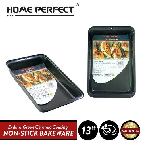 "image of Elianware x HomePerfect Non Stick Pan (13"") Roasting Pan"
