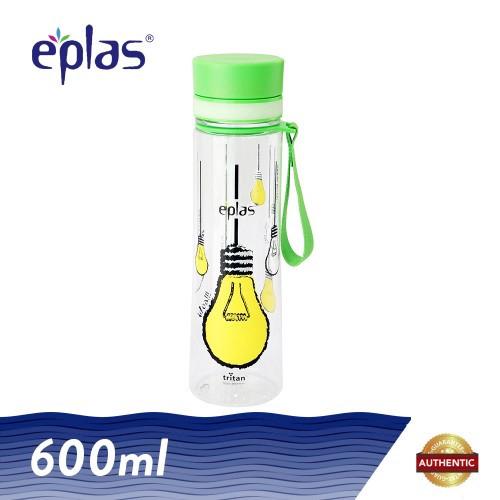image of Eplas 600ml IDEA Bulb Cat Water Bottle (BPA FREE)