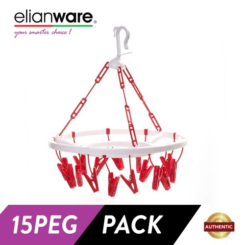 image of Elianware 15 Pegs Round Hanging Dryer