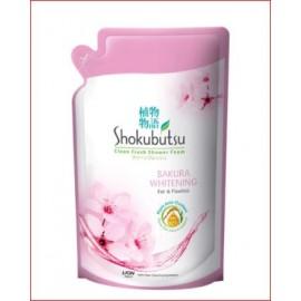 image of SHOKUBUTSU Body Wash Sakura Refill 550g