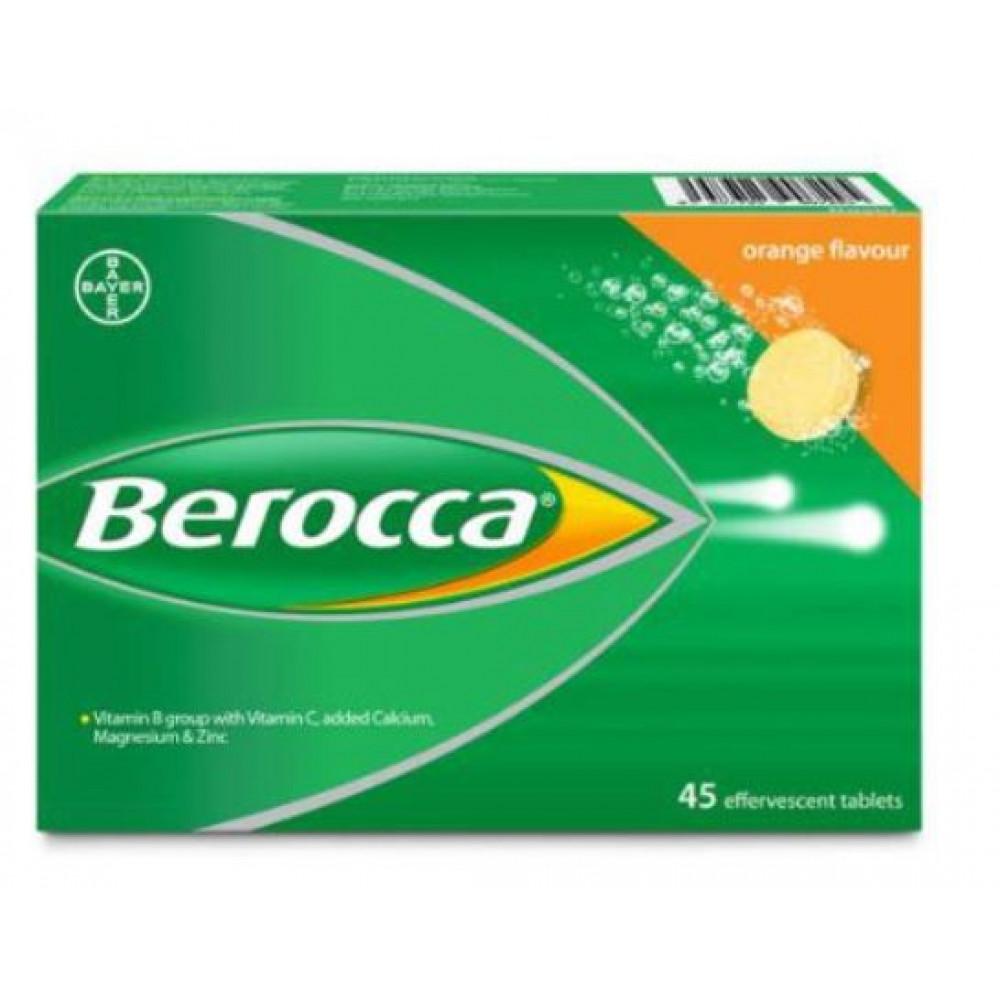 Vitamin B+C Orange 3 x 15's (Berocca)