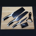 Set Of 5 Stainless Steel Kitchen Knife Set Cutter Tools